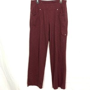 KUHL Red Stretch Knit Pull On Athliesure Pants  12